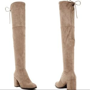 Steve Madden Slayer Boots Taupe
